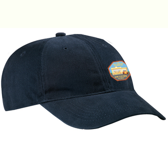 Unisex Twill Cotton Logo Baseball Hat with Velcro Closure